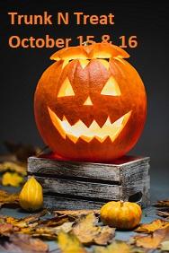 Oct 15 Friday Trunk N Treat